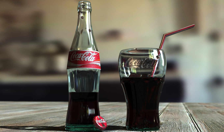 cola, coca, glass, бутылка, lemonade, еда, колы,