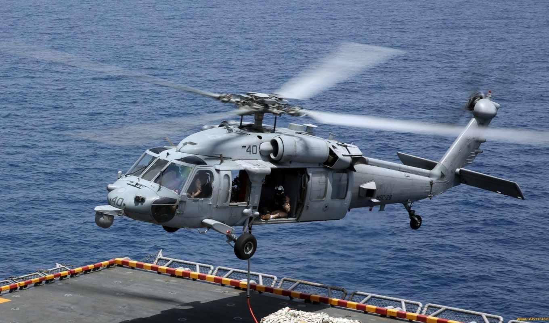 sikorsky, seahawk, free, desktop, вертолет, mh,