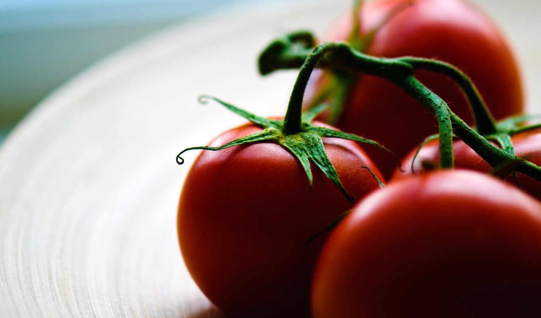 макро, еда, помидоры,