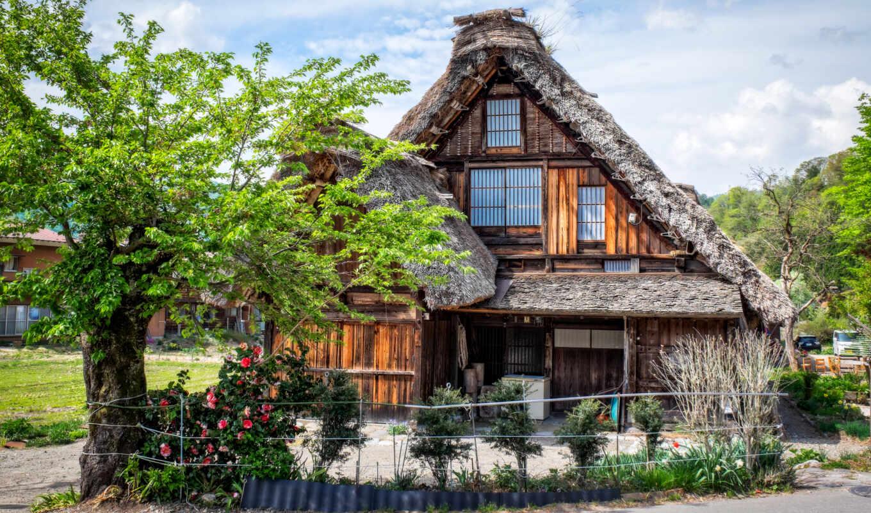 house, япония