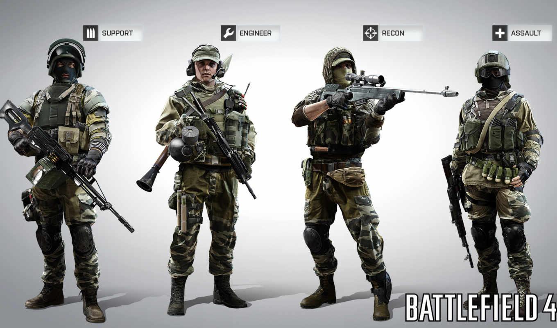 battlefield, классы, кости, игры, классов, солдат,
