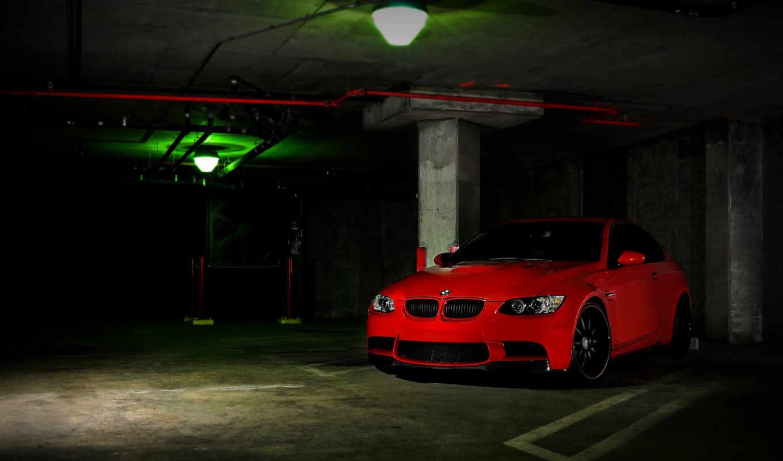 bmw, красный, спорткар,