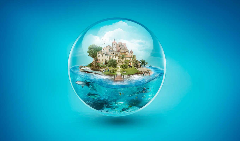 villa, desktop, araujo, abstract, underwater, fábio, море, pinterest,