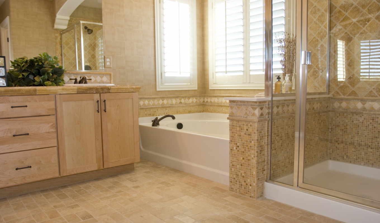ванная, комната, дом, интерьер, дизайн, стиль, Мозаика, картинка,