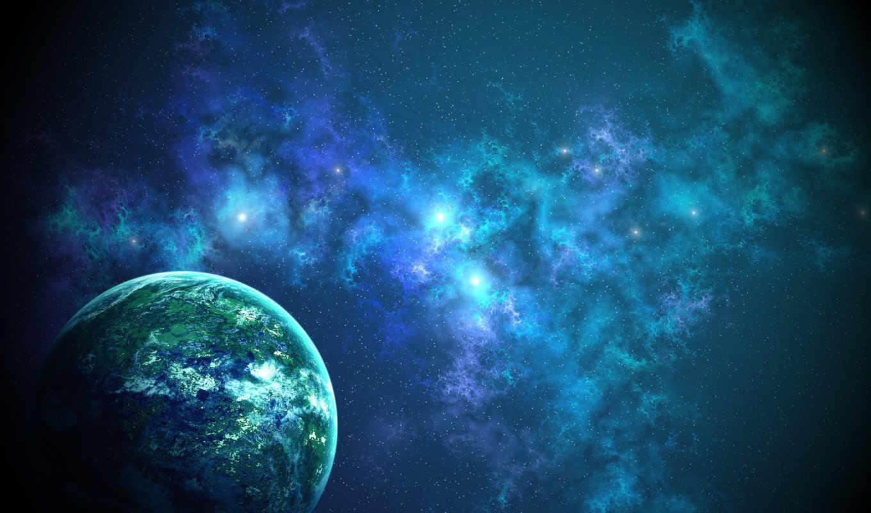 арт, балла, туманность, планета,