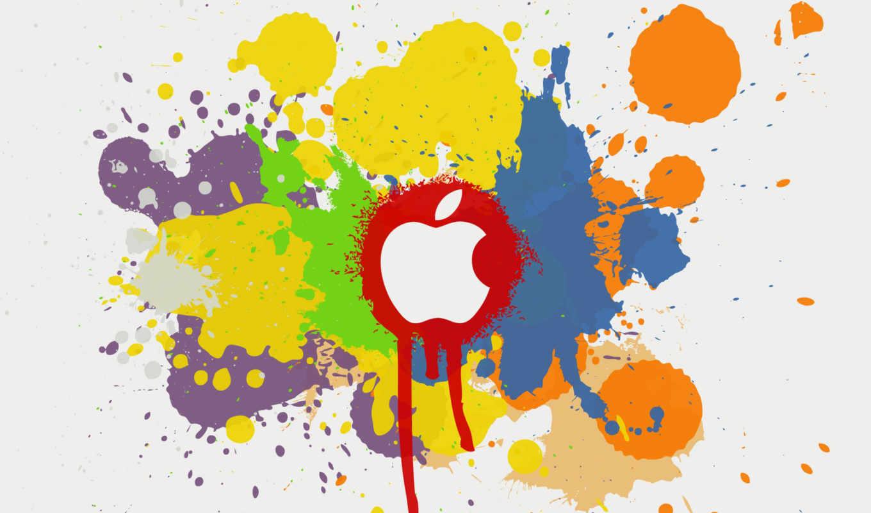 apple, mac, logo, разделе, цифровые,