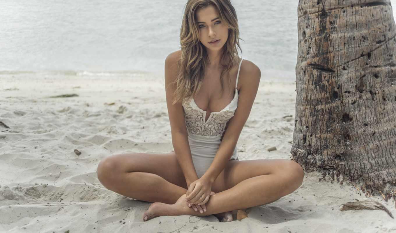 девушка, surfer, kubicka, sandra, girls, пляж, ди,