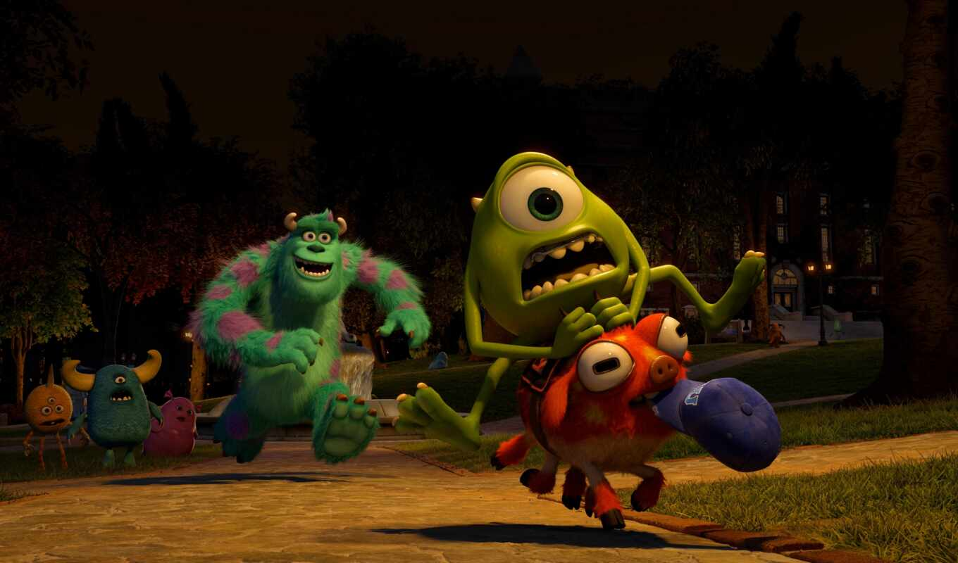 monsters, university, июня, movie, монстров,