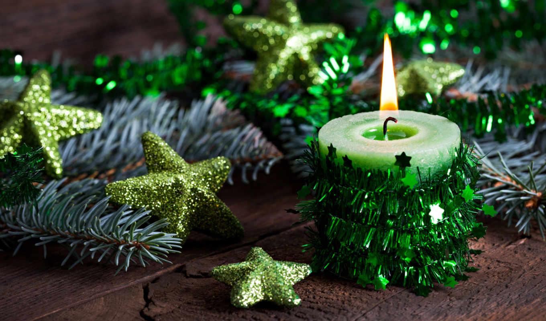 год, new, christmas, свечи, праздники, шарики,