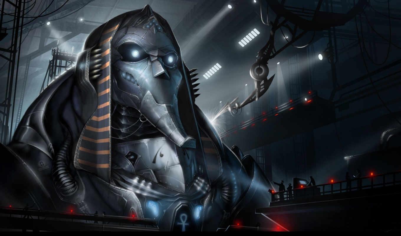 fantasy, роботы, механизмы, киборги, чародейка, robot,