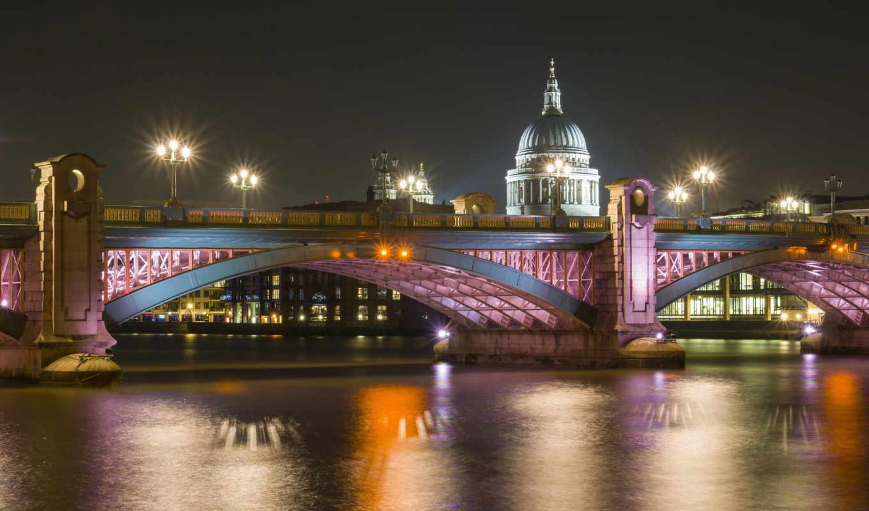 london, дома, мост, мосты,