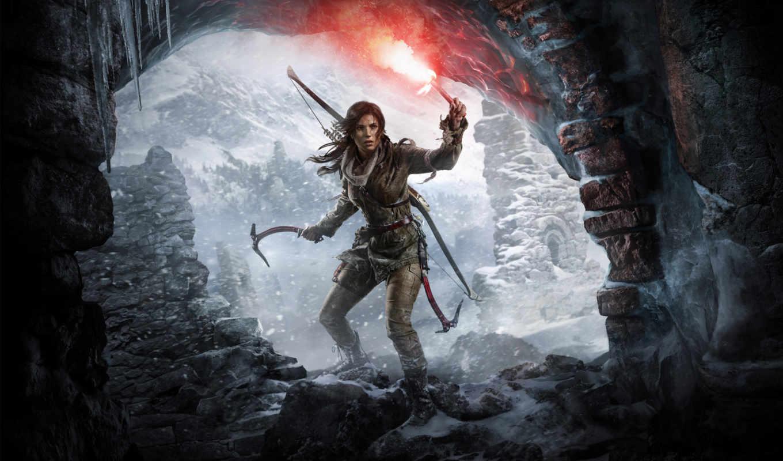 raider, tomb, взлёт, xbox, one, игры,