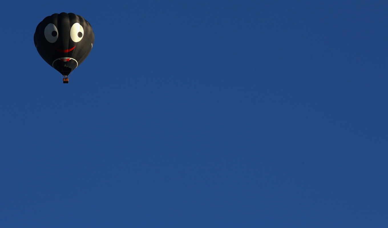 минимализм, шар, спорт, небо, картинка, картинку,