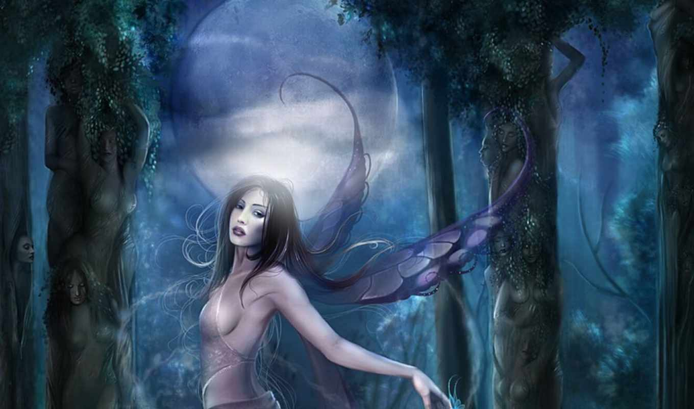 fairy, fantasy, ago, green, year,