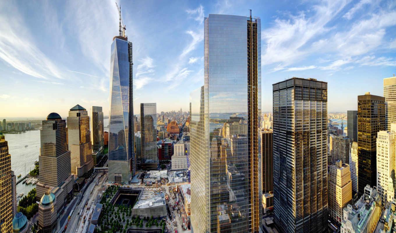 Обои небоскребы, сша, new york, здания. Города foto 17