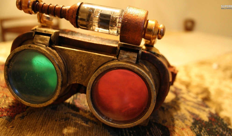 очки, steampunk, photography, изображение, лет, со, desktop,