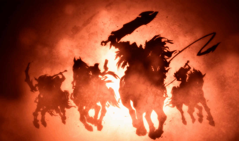 horsemen, четверо, апокалипсис, darksiders, are, банить,