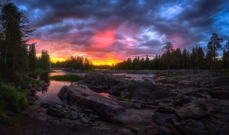 природа, permission, небо, red, tapety
