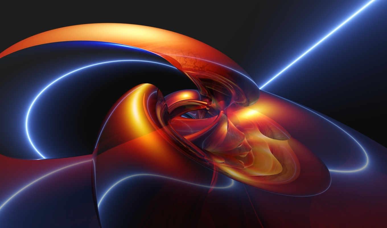 синий, узлы, ярко, красный, ubuntu, desktop, pictures, abstrakt, free,
