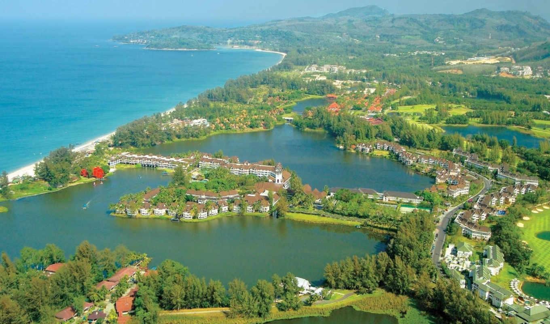 пхукет, бангкок, laguna, тайланде, домики,