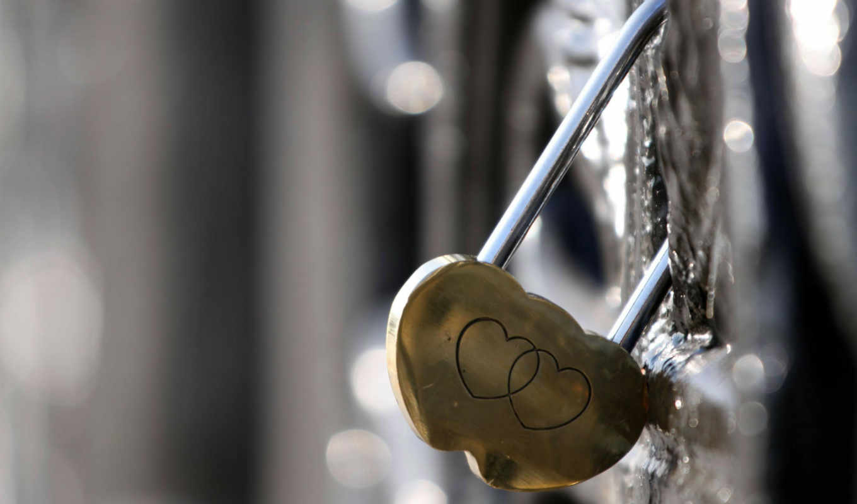 Любовь, замок, сердце