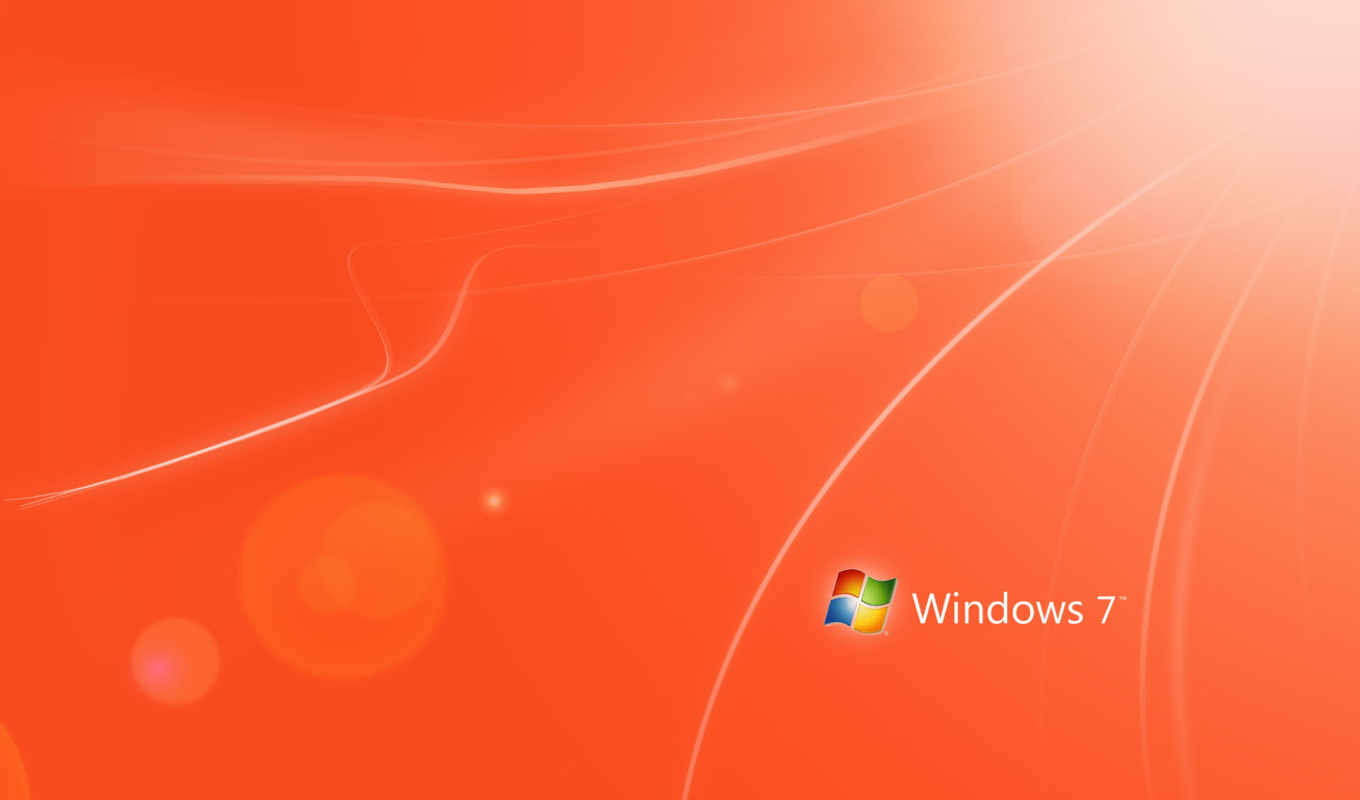 windows, naranja, red, оранжевый,