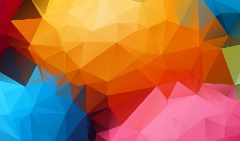 фигуры, геометрические, треугольник, абстракции, линии, color, графика,