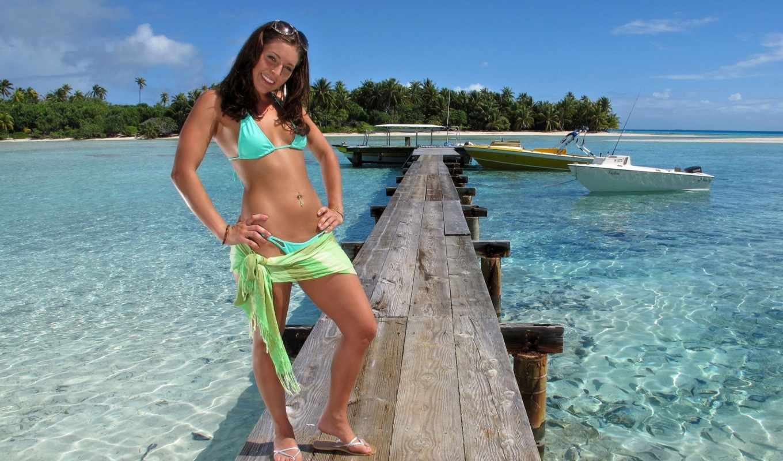 девушка, море, ocean, девушки, пляж, подборка, берег, девушек, природа,