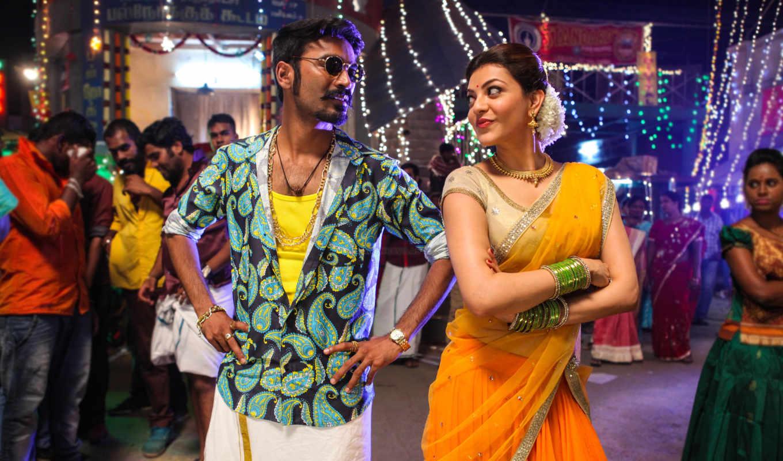 maari, movie, kajal, dhanush, stills, agarwal, tamil, photos, images, aggarwal,
