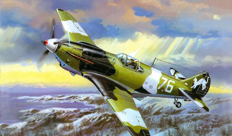 война, лагг, самолёт, великая, отечественная, авиация, картинка, picture,