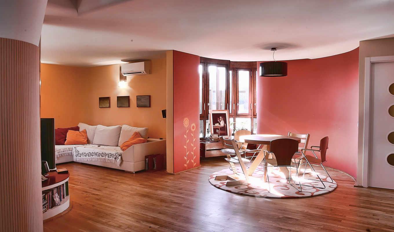 интерьер, дизайн, выпуск, обоях, комната, дом, жилая, вилла, стиль,