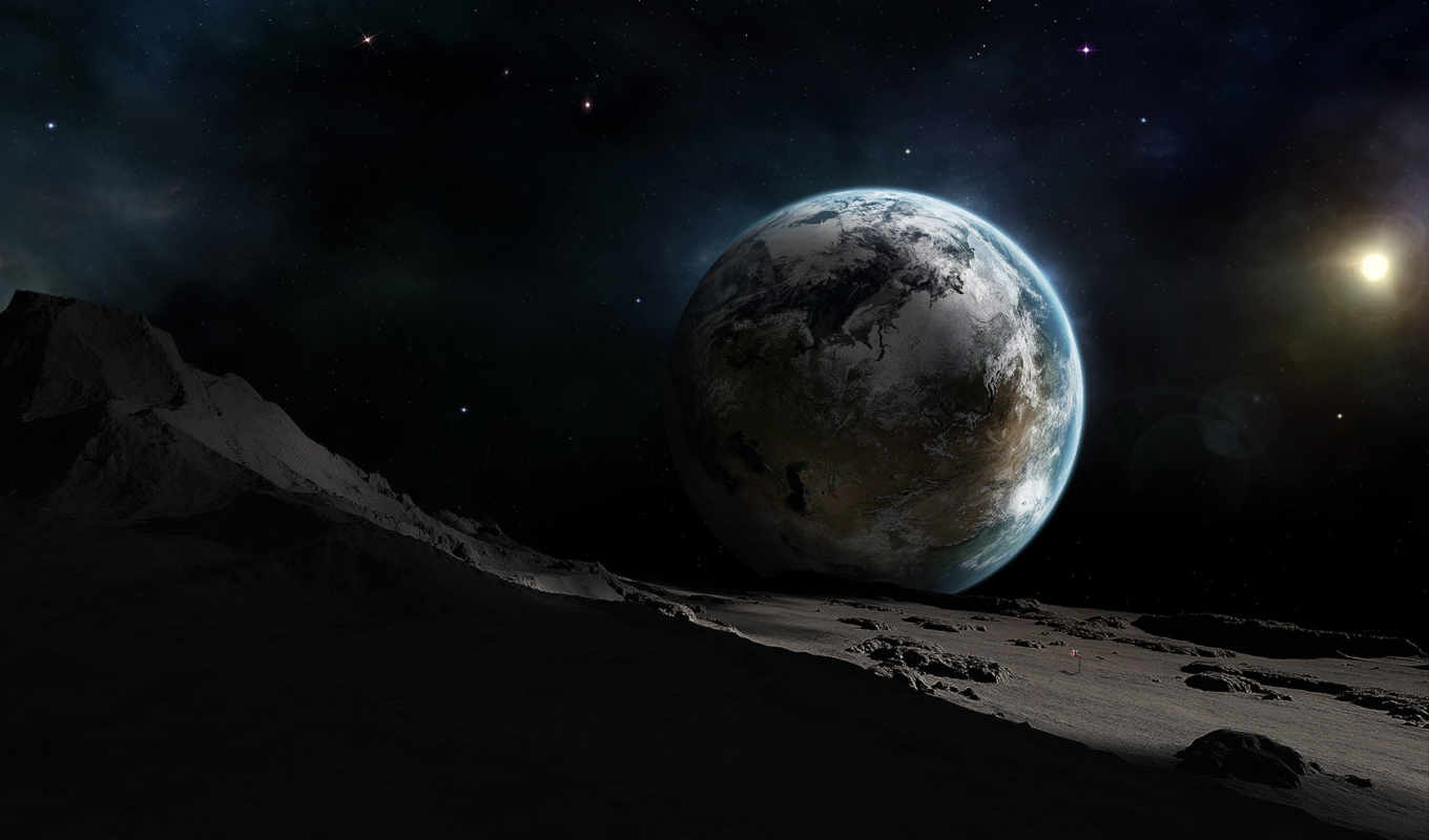 space, planets, земля, outer, луны, вид, planet, stars, universe, journey,