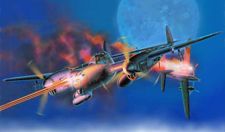 самолеты, kartinka, рисованные, art, авиация, небо, lockheed, lightning, локхид, лайтнинг,