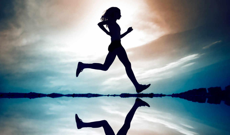 девушка, running, run, трек, desktop,