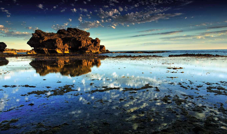 австралия, природа, море, rock, water, victoria