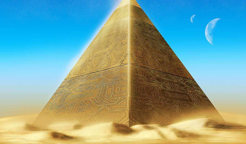 пирамида, меркурий,