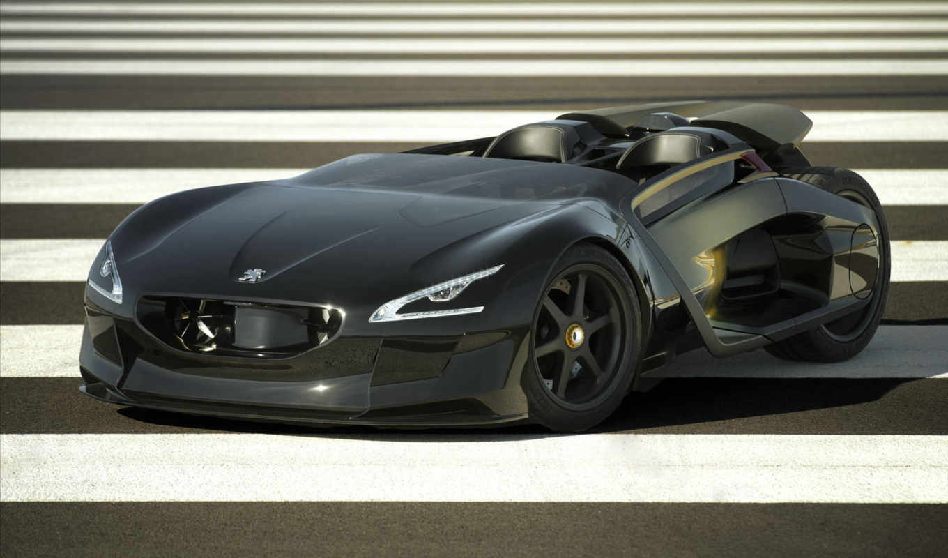 concept, peugeot, кар,