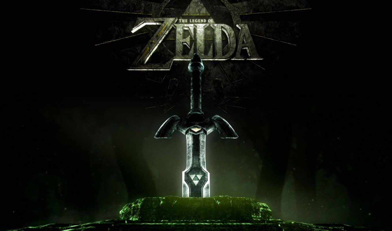 сказание, zelda, меч, swords,