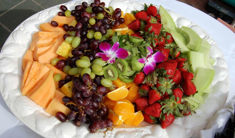 нить, фрукты, табличка, салат, ягоды, фруктов, бананы, dreamfire, добавил,