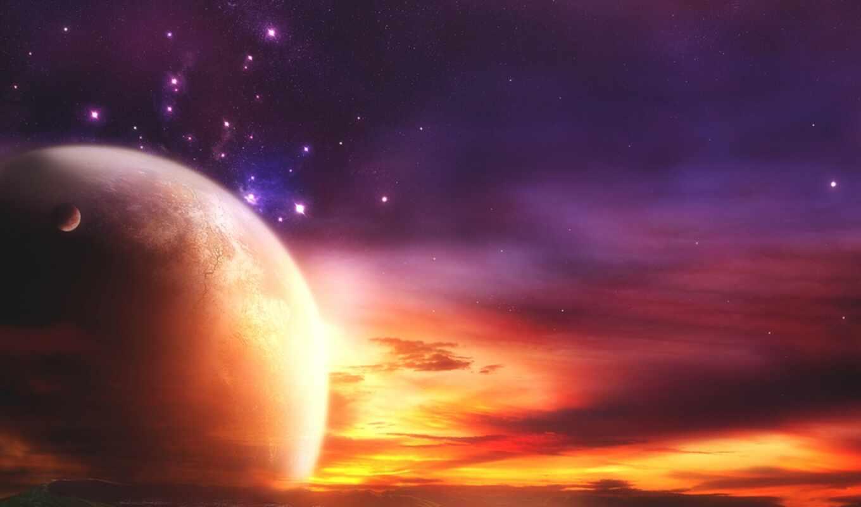 space, зарево, планета, amazing, art, сборник, картинка, desktop,