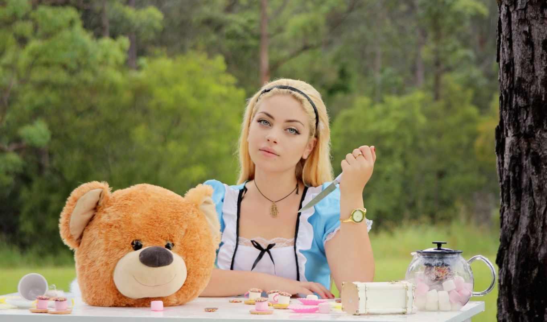 медведь, teddy, плюшевый,