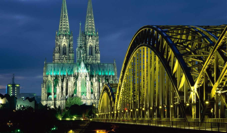 город, красивый, города, красивые, architecture, ночью,