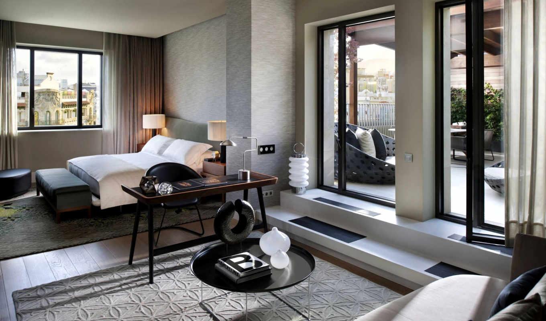 спальня, дизайн, интерьер, стиль, комната, белый, серый, бежевый,