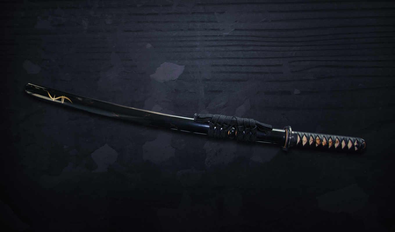 самурай, катана, меч,