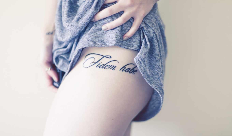 tat, title, татуировка, девушка