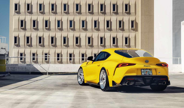supra, toyo, car, yellow