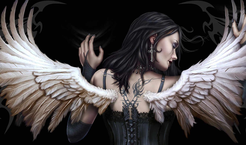 девушка, henning, angel, fantasy, gothic, часть, angels, wings, тату, girls, правой, art, picture, крылья, spiral, wrap, groupswigsmasksfunny, кнопкой, пин, выберите, картинку, чтобы, ап, ludvigsen, к