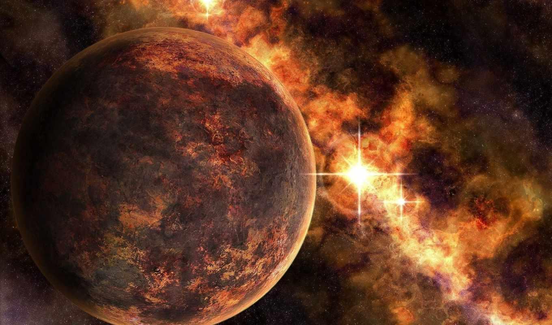 космос, planets,