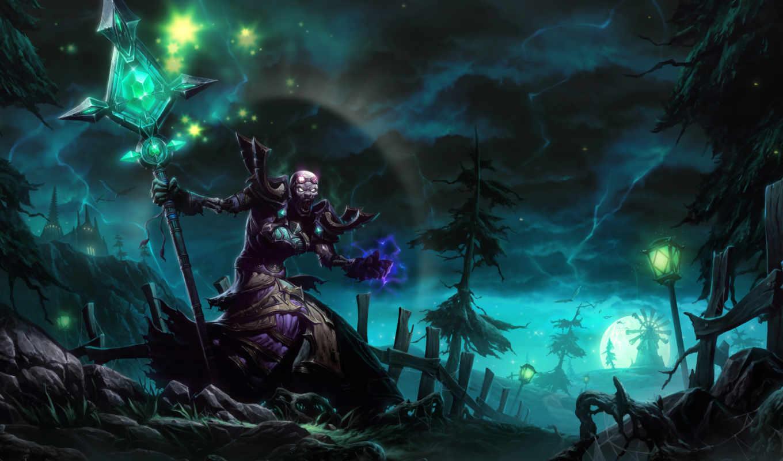 cgwall游戏原画网站, 喜欢, necromancer, witch,