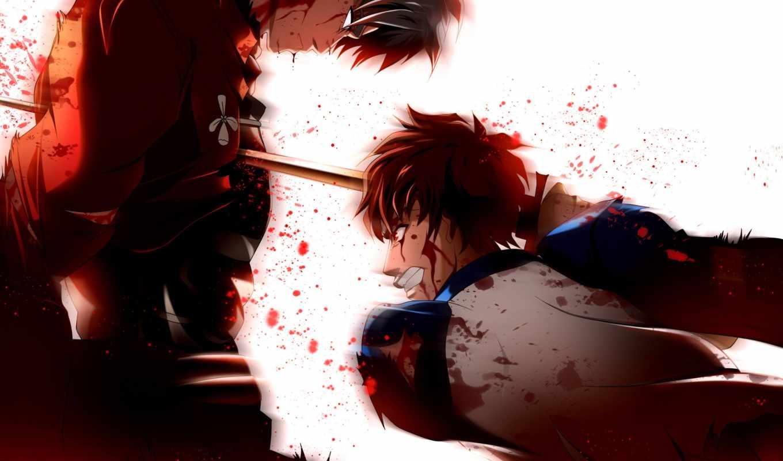 Картинка аниме убийство